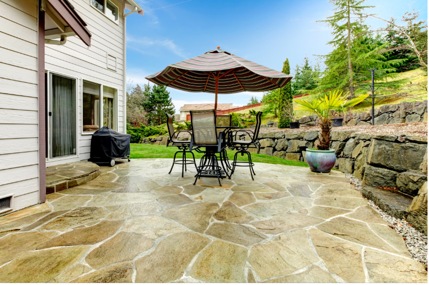 Flagstone Stamped Concrete - Pittsburgh